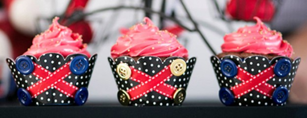 British Toy Soldier themed birthday party via Kara's Party Ideas KarasPartyIdeas.com Invitation, cake, banners, cupcakes, food, supplies, and more! #britishparty #britishtoysoldier #toysoldierparty #englishsoldier (2)