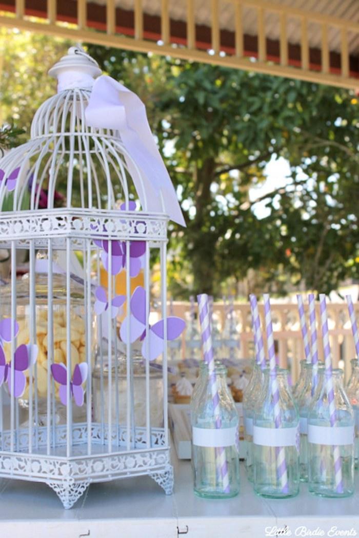 Purple Butterfly Garden Birthday Party Via Karas Ideas KarasPartyIdeas Desserts Food