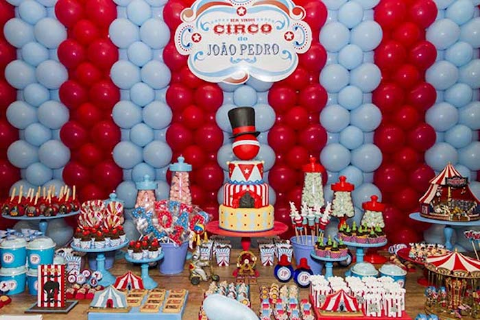 Circus Themed Birthday Party Via Karas Ideas KarasPartyIdeas Cake Decor Food