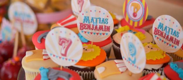 Vintage Circus themed birthday party via Kara's Party Ideas KarasPartyIdeas.com Cake, decor, favors, desserts, invitation, and more! #circus #vintagecircus #circusparty (2)