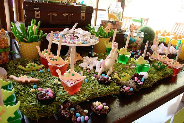 75 Food Ideas For Dinosaur Birthday Party 24 Dinosaur Party Food
