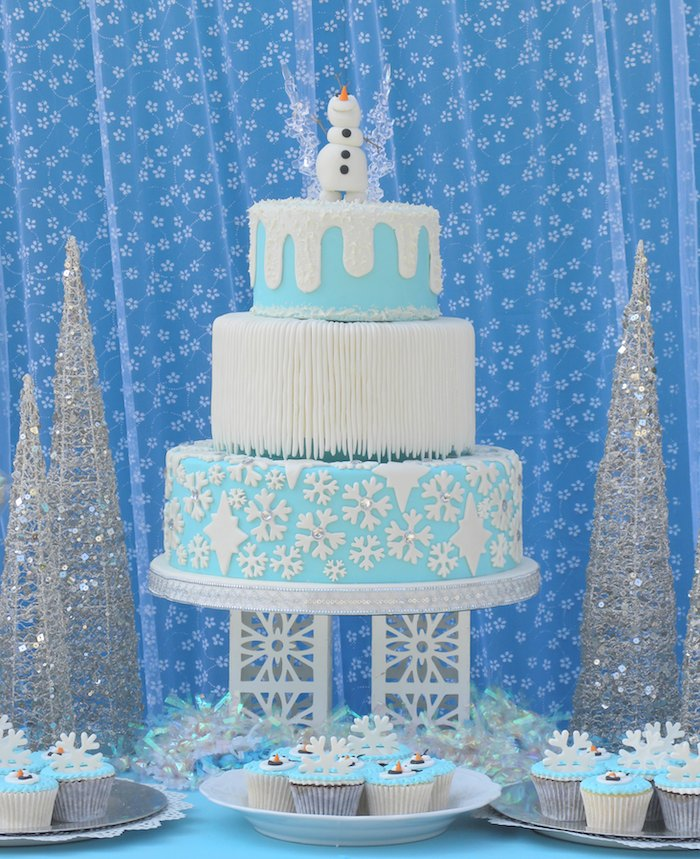 Kara's Party Ideas Frozen Birthday Party Via Kara's Party