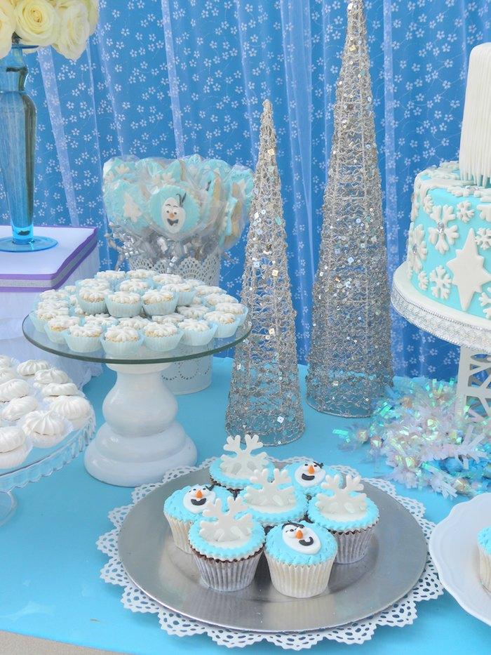 Karas Party Ideas Frozen Birthday Party via Karas Party Ideas