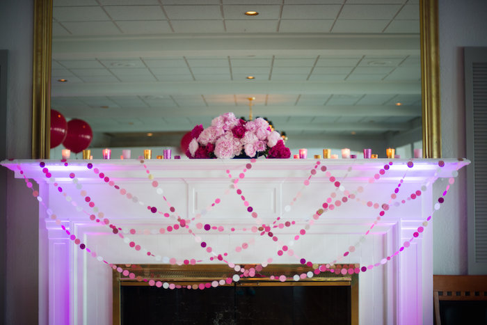 kara u0026 39 s party ideas pink and gold 40th birthday party via