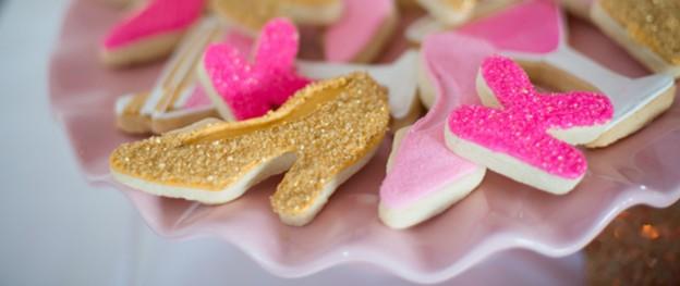 Pink And Gold 40th Birthday Party Via Karas Ideas KarasPartyIdeas Invitation Cake