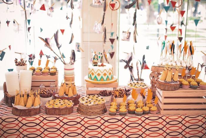 Kara's Party Ideas Indian Princess themed birthday party ...
