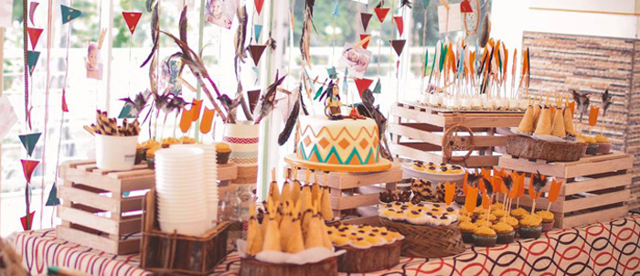 Kara S Party Ideas Indian Princess Themed Birthday Party