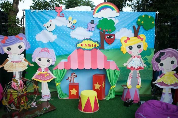 Lalaloopsy Carnival Birthday Party Via Karas Ideas KarasPartyIdeas Supplies Food Decor