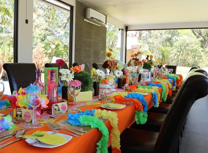 Beautiful Hawaiian Luau Baby Shower Via Karau0027s Party Ideas KarasPartyIdeas.com Cake,  Decor, Supplies