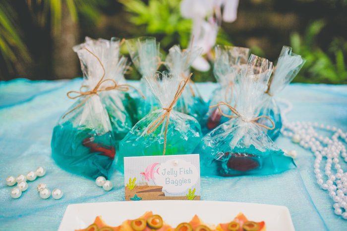 Kara S Party Ideas Mermaid Themed 4th Birthday Party Via