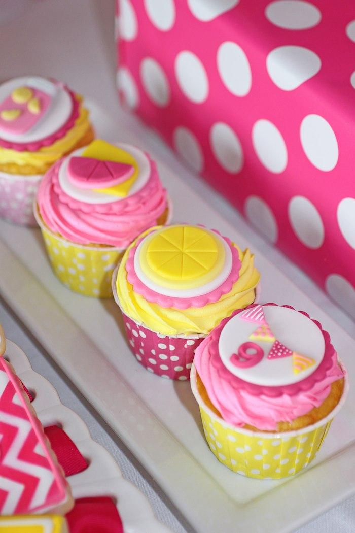 Kara S Party Ideas Pink Lemonade Themed Birthday Party Via