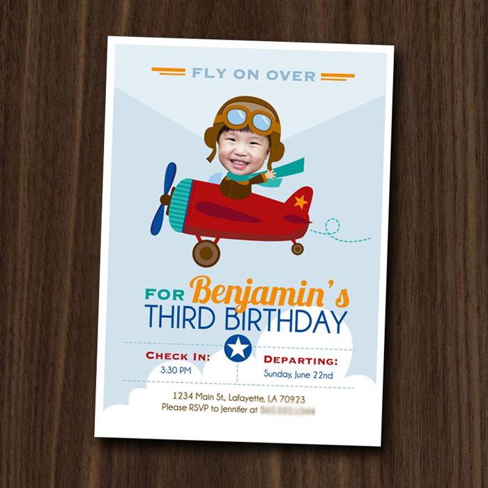 Airplane Birthday Party Via Karas Ideas KarasParyIdeas Printables Cake Invitation