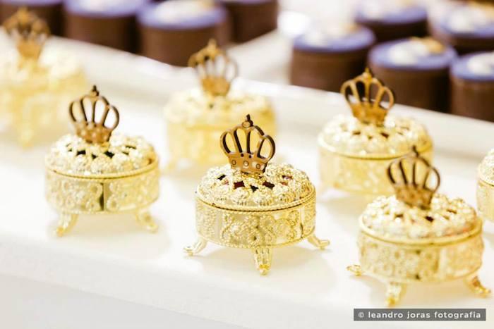 Royal Prince 1st Birthday Party Via Karas Ideas KarasPartyIdeas Cake Decor