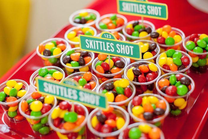 Karas Party Ideas Sesame Street themed 1st birthday party via – Sesame Street 1st Birthday Invitations
