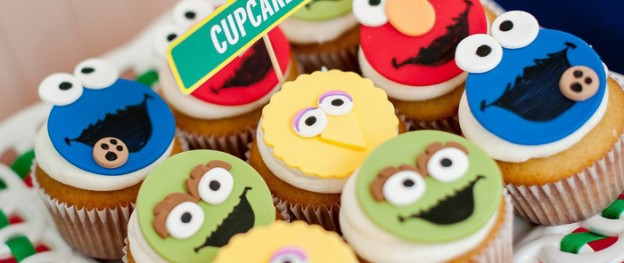 Sesame Street themed 1st birthday party via Kara's Party Ideas KarasPartyIdeas.com Invitation, cake, food, supplies, recipes, and MORE! #sesamestreet #sesamestreetparty (2)