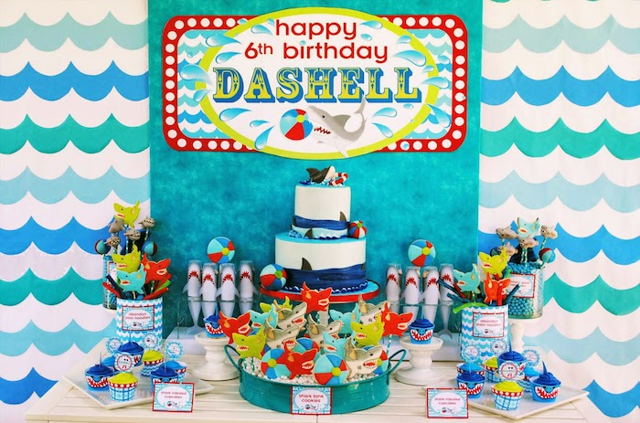 Swedish Fish Birthday Cake
