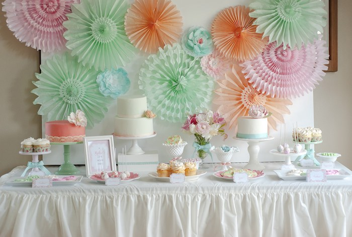 Mother Daughter Spa Themed Birthday Party Via Karas Ideas KarasPartyIdeas Printables Recipes