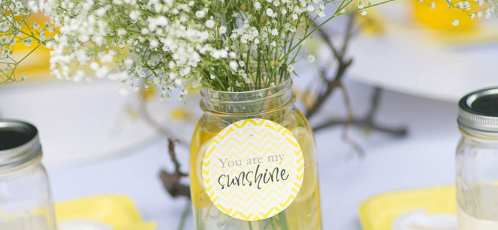 Kara S Party Ideas You Are My Sunshine Baby Shower