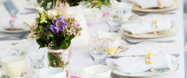 High Tea in the Park via Kara's Party Ideas KarasPartyIdeas.com Supplies, desserts, favors, tutorials, games, favors, and more! #hightea #teaparty #teapartyideas (1)