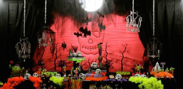 Day of the Dead Halloween Party via KarasPartyIdeas.com #Halloween #DayOfTheDead #DiaDeLosMuertos (18)