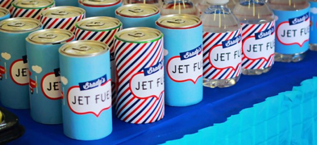 Airline + Airplane themed birthday party via Kara's Party Ideas KarasPartyIdeas.com Cake, favors, drinks, printables, and more! #airplaneparty #airplane #airplanebirthdayparty #firstbirthday (1)