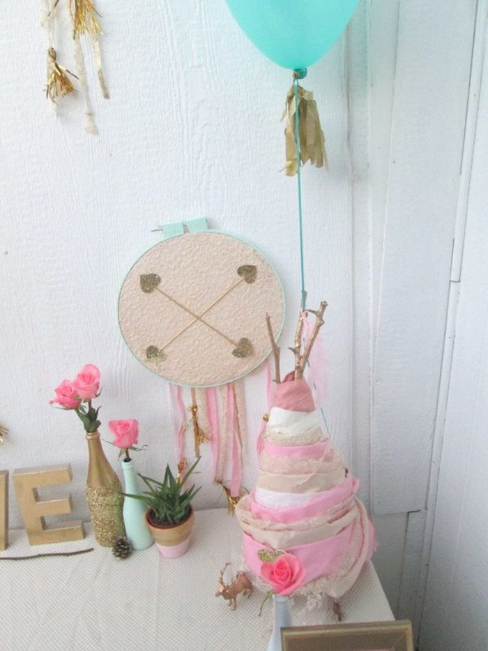 bohemian bridal baby shower via kara s party ideas karaspartyideas