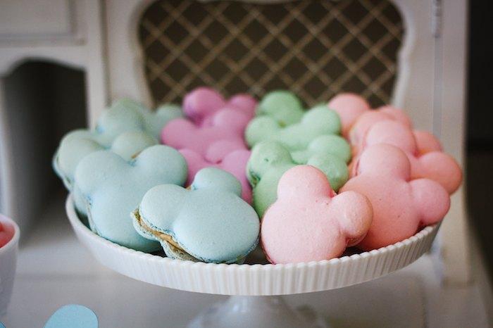 Pastel Minnie Mouse BOWtique Birthday Party Via Karas Ideas KarasPartyIdeas Cake Decor