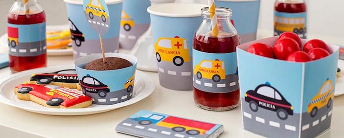 Karas Party Ideas Car Themed Birthday