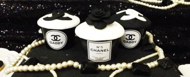 Chanel inspired bridal shower via Kara's Party Ideas KarasPartyIdeas.com Cake, decor, printables, cupcakes, favors, and more! #chanel #cocochanel #chanelparty #chanelpartyideas (1)