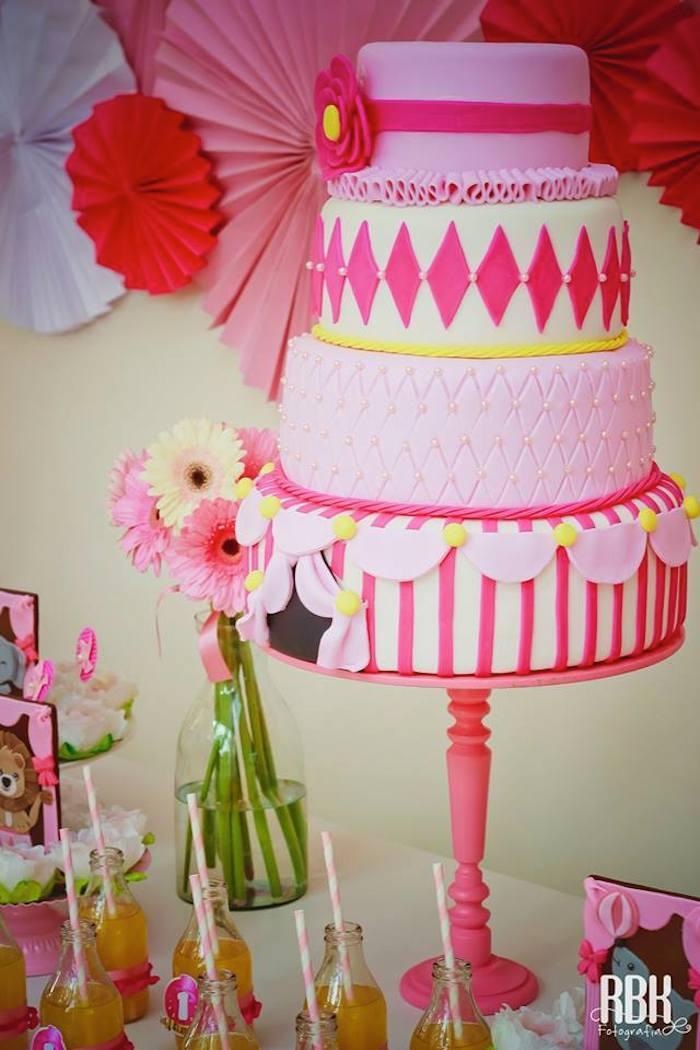 Karas Party Ideas Pink Circus Party via Karas Party Ideas ...