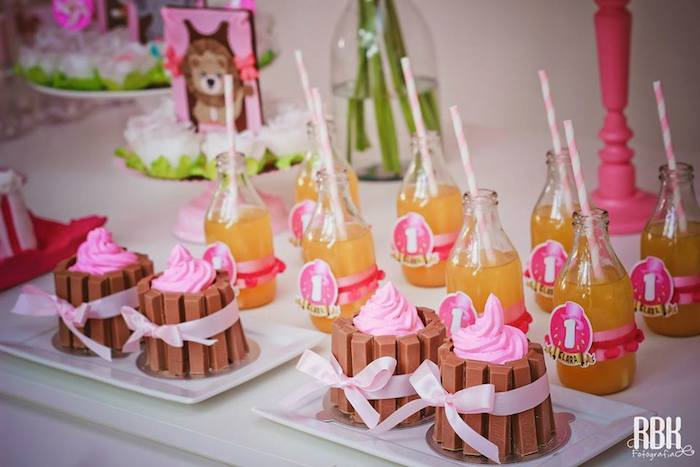 98 food ideas for pink party pink white polka dot party pink