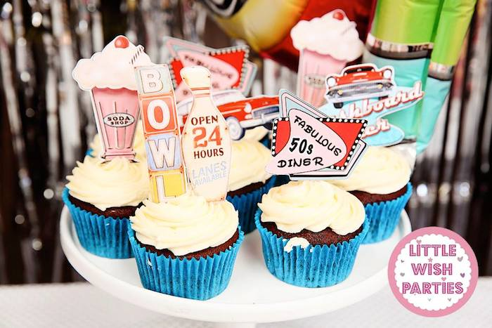 Kara S Party Ideas 1950 S Diner Rock N Roll Birthday Party