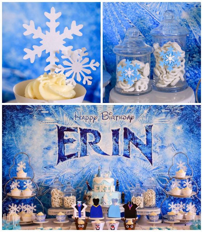 Kara's Party Ideas Frozen Themed 7th Birthday Party Via