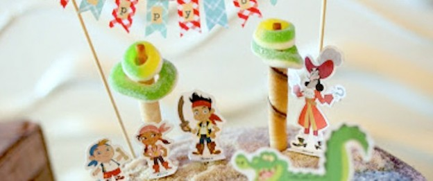 jake and the neverland pirates themed birthday party via Kara's Party Ideas KarasPartyIdeas.com