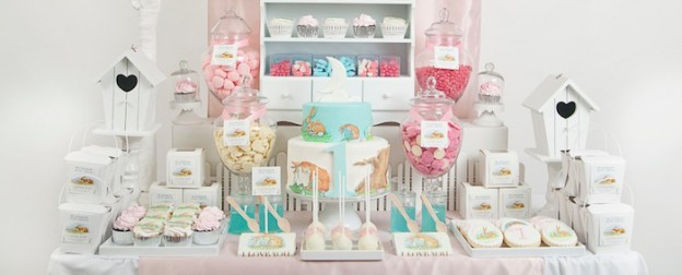 How Much I Love You 1st Birthday Party via Kara's Party Ideas KarasPartyIdeas.com Cake, cookies, favors, food, and more! #peterrabbit #1stbirthdayparty #firstbirthday #peterrabbitparty (1)