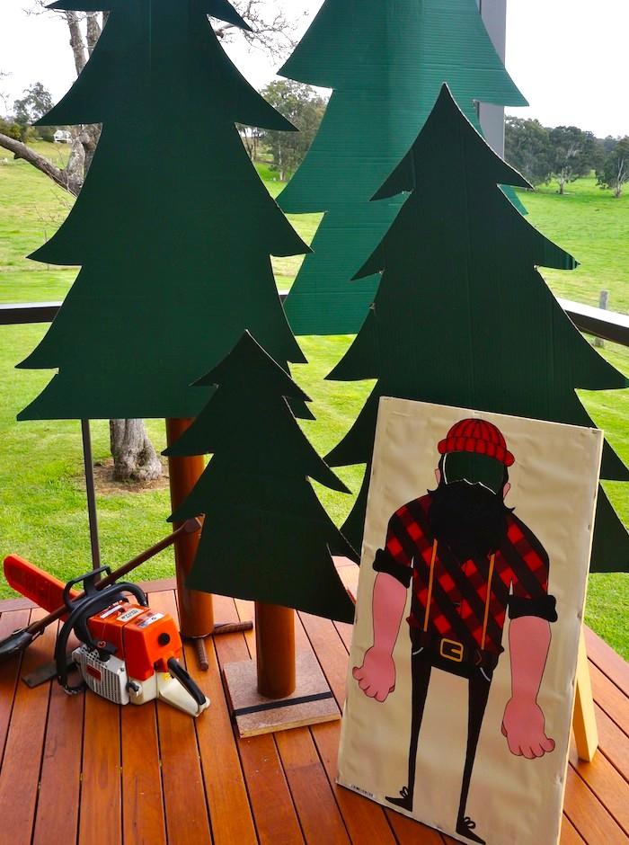 Kara S Party Ideas Lumberjack Themed 2nd Birthday Party Via Kara S Party Ideas Karaspartyideas