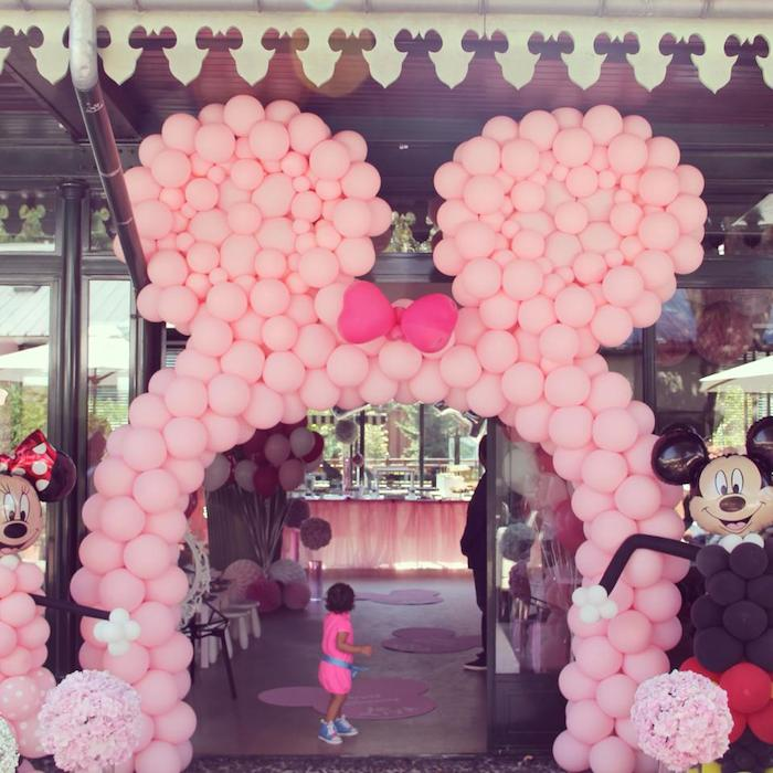 Kara S Party Ideas Minnie Mouse Themed Birthday Party Via