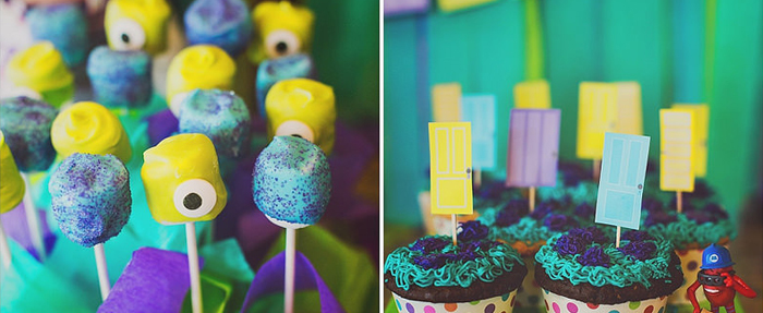 Kara S Party Ideas Monsters Inc Birthday Party