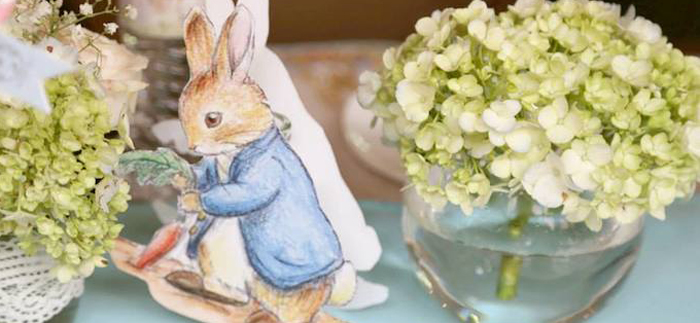 Karas Party Ideas Peter Rabbit Themed Baby Shower