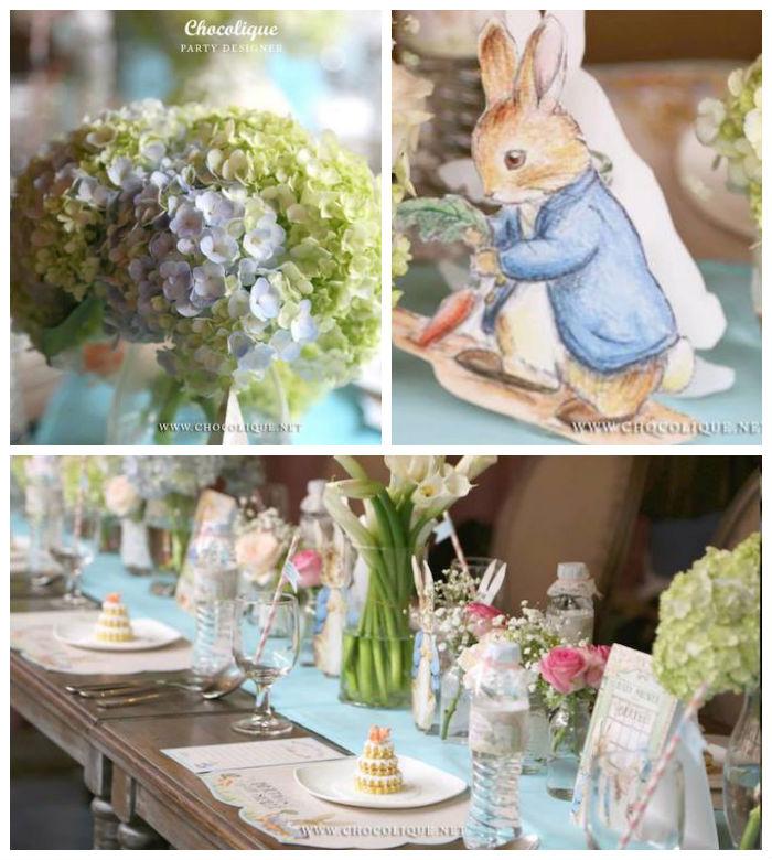 Kara s party ideas peter rabbit themed baby shower via