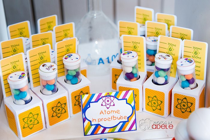 Karas Party Ideas Science Themed Birthday Via Kara