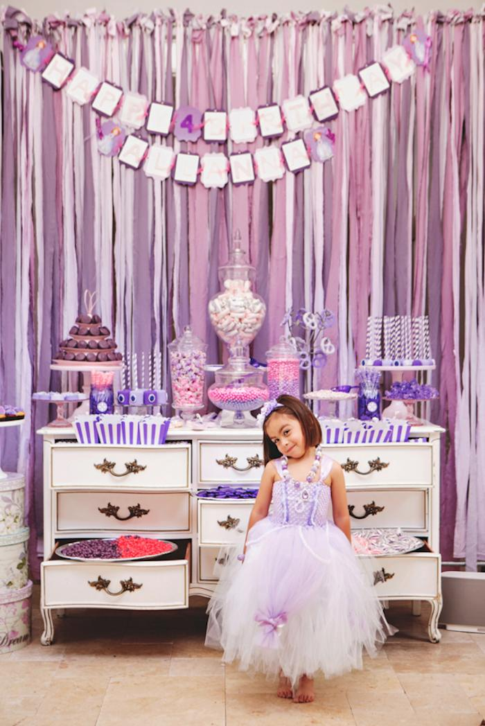 Kara's Party Ideas Sofia the First themed birthday party ...