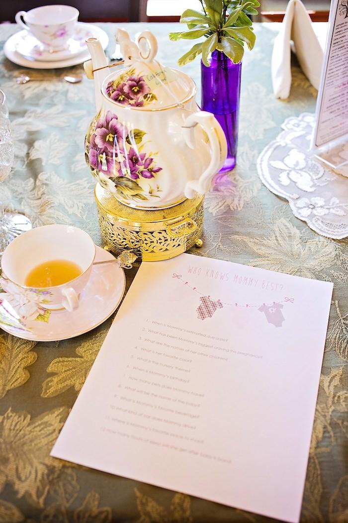 Kara 39 s party ideas high tea baby shower via kara 39 s party for High tea party decorations