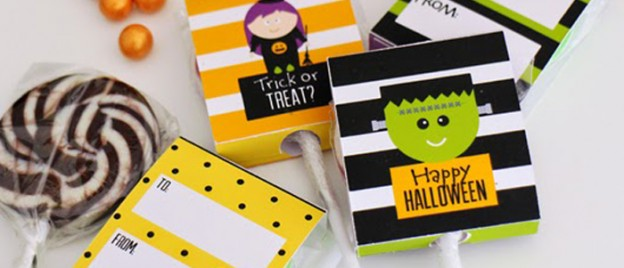 Trick or Treat? Halloween Party via Kara's Party Ideas KarasPartyIdeas.com Printables, cupcakes, favors, banners, food, desserts, and more! #hallloween #halloweenparty #halloweenpartyides #halloweenprintables (1)