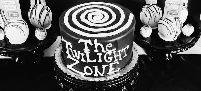 Kara S Party Ideas Twilight Zone Themed Birthday Party