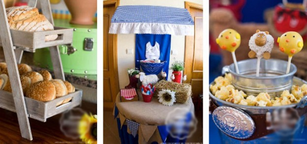 Country Western Baby Shower via Kara's Party Ideas KarasPartyIdeas.com Cake, decor, supplies, food, games, and more! #boybabyshower #countrywestern #farmparty #farmpartyideas #westernbabyshower (1)