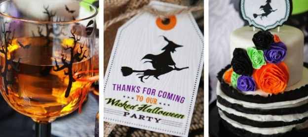 wickedly sweet witch themed halloween party by Banner Events via Kara's Party Ideas KarasPartyIdeas.com