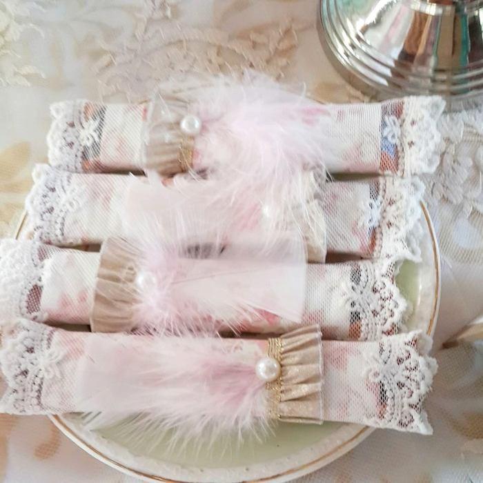 Marie Antoinette Inspired Birthday Party via Kara's Party Ideas KarasPartyIdeas.com Decor, cake, ...