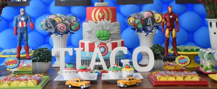 Kara's Party Ideas Avengers Themed Birthday Party