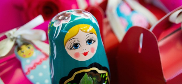 Babushka Doll Inspired Birthday Party via Kara's Party Ideas KarasPartyIdeas.com Decor, printables, favors, desserts, food, and more! #babushka #babushkadoll #babushkaparty #babushkadollparty (1)